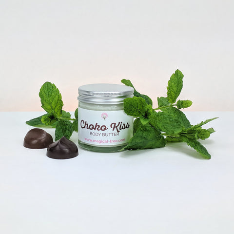 Choko Kiss body butter 60ml cocoa and peppermint | Magical Tree