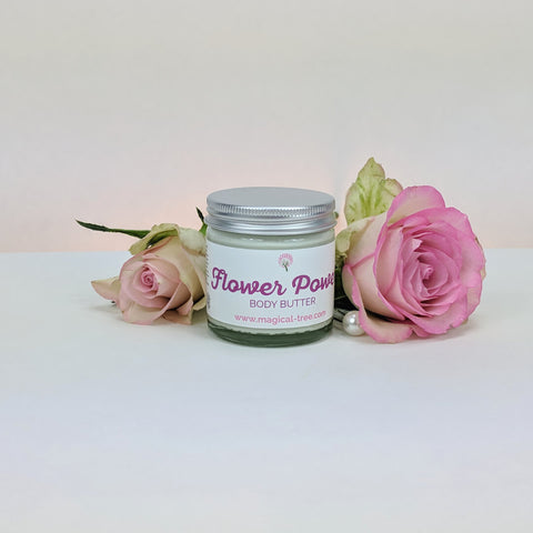 Flower Power body butter 60ml geranium | Magical Tree