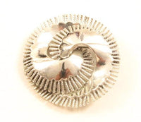 Signed Coro Vintage Abstract Silver Tone Swirl Spiral Tassels Brooch Pin*Y874 - Jewel Eureka