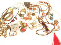 1lb1oz Jewelry Lot*Cold Water Creek*Necklace Earring Set*925 Gem Pendant*A620