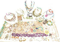 Huge Assorted 111pc Colorful Great Wholesale Costume Jewelry Lot*Pounds*Lbs*A507