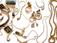 18pc Vintage Gold Tone Jewelry Lot*Chains*Gold Filled Sterling Silver*18Pc*D931 - Jewel Eureka
