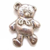 Vintage Sterling Silver 925 Teddy Bear Brooch Pin*Taxco Mexico Ts-01*15.7G*E391 - Jewel Eureka