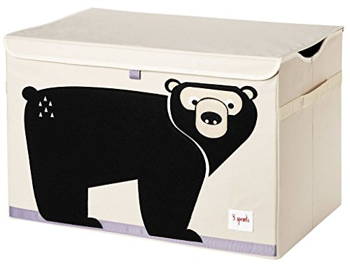 Shop Bear 3 Sprouts Toy Chest -  Accessories For A Happy Trendy Modern Home at Low Prices  Color Home Happy - Accessories for a happy modern home