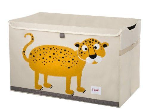 Shop Leopard 3 Sprouts Toy Chest -  Accessories For A Happy Trendy Modern Home at Low Prices  Color Home Happy - Accessories for a happy modern home