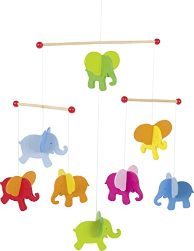 Shop Goki Elephants Wooden Mobile -  Accessories For A Happy Trendy Modern Home at Low Prices  Color Home Happy - Accessories for a happy modern home