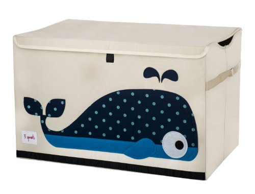 Whale 3 Sprouts Toy Chest - Color Home Happy - Accessories for a happy modern home