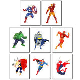Superhero Wall Art Poster Prints - Color Home Happy - Accessories for a happy modern home