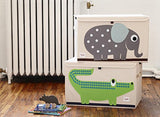 Elephant 3 Sprouts Toy Chest - Color Home Happy - Accessories for a happy modern home
