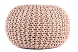 Shop Cable Pouf Ottoman -  Accessories For A Happy Trendy Modern Home at Low Prices  Color Home Happy