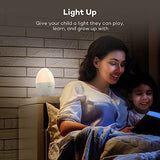 VAVA Home VA-HP008 Night Lights for Kids, LED Nursery Lamp with Free Stickers, Safe ABS+PC, Adjustable Brightness, 80 Hours Runtime, Cool Warm White