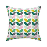 Shop Geometric Flower Throw Pillow -  Accessories For A Happy Trendy Modern Home at Low Prices  Color Home Happy - Accessories for a happy modern home