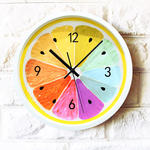 Shop Modern Wall Clock -  Accessories For A Happy Trendy Modern Home at Low Prices  Color Home Happy - Accessories for a happy modern home