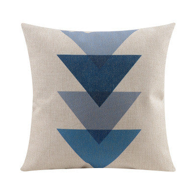Shop Triangles Throw Pillow Cover -  Accessories For A Happy Trendy Modern Home at Low Prices  Color Home Happy
