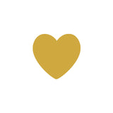 Shop Gold Heart Vinyl Wall Decals (Set of 36) -  Accessories For A Happy Trendy Modern Home at Low Prices  Color Home Happy