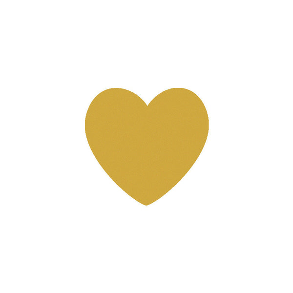 Shop Gold Heart Vinyl Wall Decals (Set of 36) -  Accessories For A Happy Trendy Modern Home at Low Prices  Color Home Happy - Accessories for a happy modern home