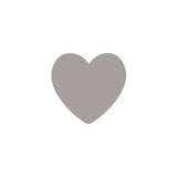 Shop Light Gray Heart Vinyl Wall Decals (Set of 36) -  Accessories For A Happy Trendy Modern Home at Low Prices  Color Home Happy - Accessories for a happy modern home