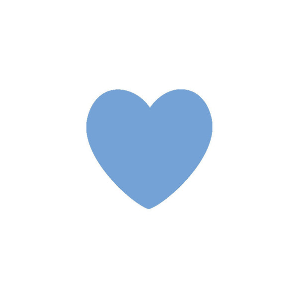 Shop Blue Hearts Vinyl Wall Decals (Set of 36) -  Accessories For A Happy Trendy Modern Home at Low Prices  Color Home Happy