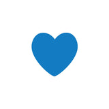 Shop Blue Hearts Vinyl Wall Decals (Set of 36) -  Accessories For A Happy Trendy Modern Home at Low Prices  Color Home Happy - Accessories for a happy modern home