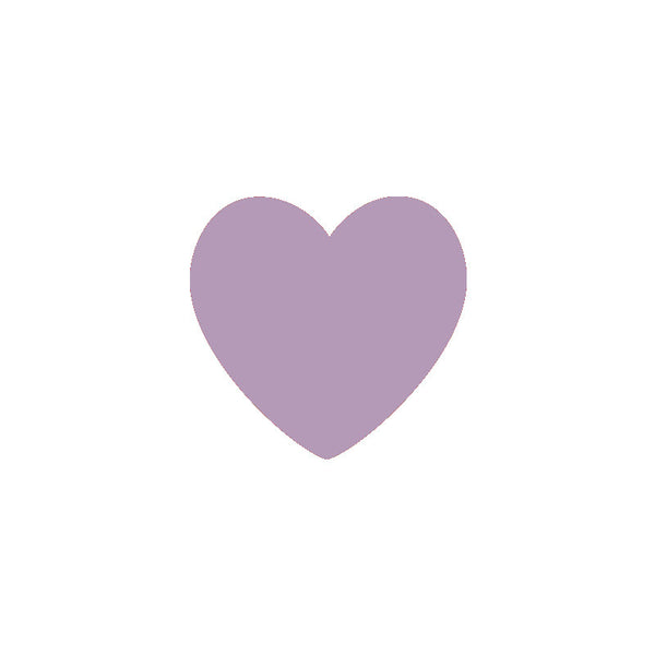 Shop Light Purple Hearts Vinyl Wall Decals (Set of 36) -  Accessories For A Happy Trendy Modern Home at Low Prices  Color Home Happy - Accessories for a happy modern home