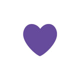 Shop Purple Heart Vinyl Wall Decals (Set of 36) -  Accessories For A Happy Trendy Modern Home at Low Prices  Color Home Happy - Accessories for a happy modern home