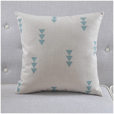 Shop Triangle Throw Pillow Cover -  Accessories For A Happy Trendy Modern Home at Low Prices  Color Home Happy