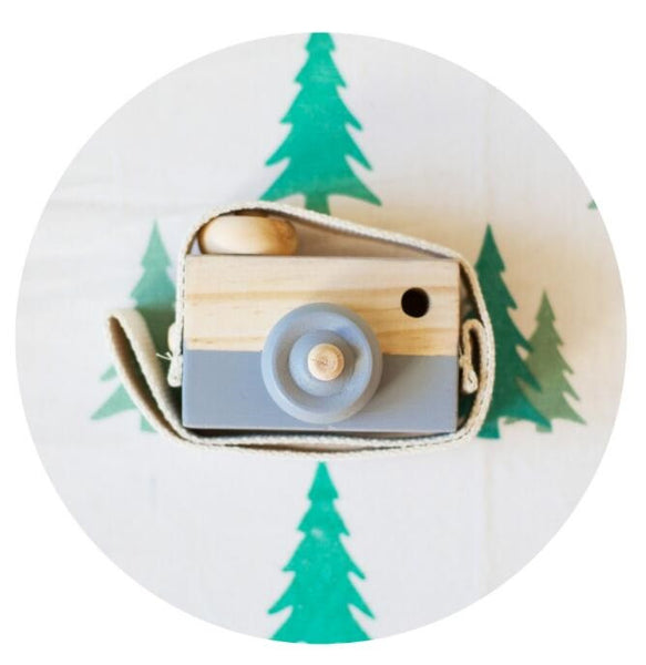 Shop Wooden Camera Decor Accessory -  Accessories For A Happy Trendy Modern Home at Low Prices  Color Home Happy - Accessories for a happy modern home