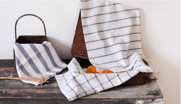 Cotton Placemats / Kitchen Towels (3-piece) - Color Home Happy - Accessories for a happy modern home