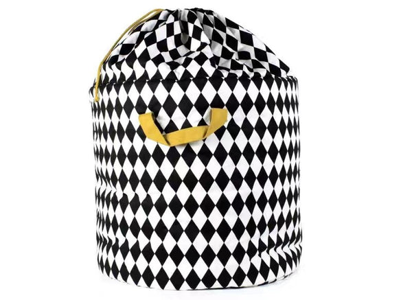 Shop Diamonds Storage Bin with Drawstring -  Accessories For A Happy Trendy Modern Home at Low Prices  Color Home Happy