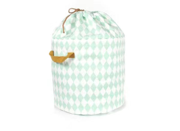 Shop Diamonds Storage Bin with Drawstring -  Accessories For A Happy Trendy Modern Home at Low Prices  Color Home Happy - Accessories for a happy modern home
