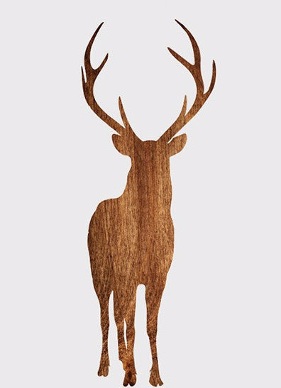 Shop Unframed Deer Canvas Print -  Accessories For A Happy Trendy Modern Home at Low Prices  Color Home Happy - Accessories for a happy modern home