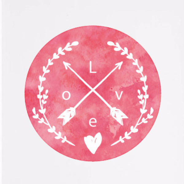 Unframed LOVE Canvas Print
