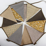 Shop Fabric Triangles Bunting -  Accessories For A Happy Trendy Modern Home at Low Prices  Color Home Happy - Accessories for a happy modern home