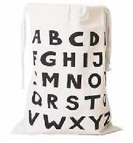 Shop ABC Alphabet Storage Canvas Bag -  Accessories For A Happy Trendy Modern Home at Low Prices  Color Home Happy