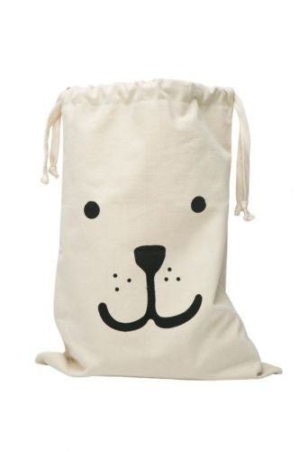 Shop Dog Face Storage Canvas Bag -  Accessories For A Happy Trendy Modern Home at Low Prices  Color Home Happy