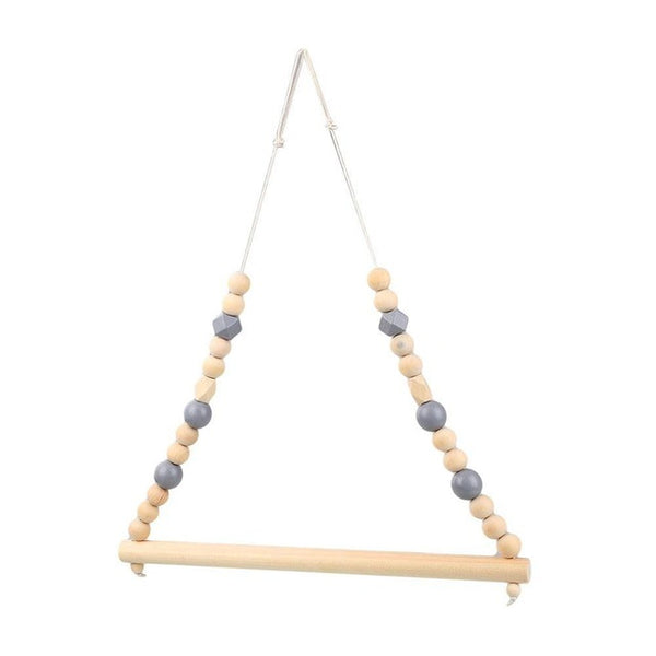 Shop Beads Wooden Hanger Rod -  Accessories For A Happy Trendy Modern Home at Low Prices  Color Home Happy - Accessories for a happy modern home
