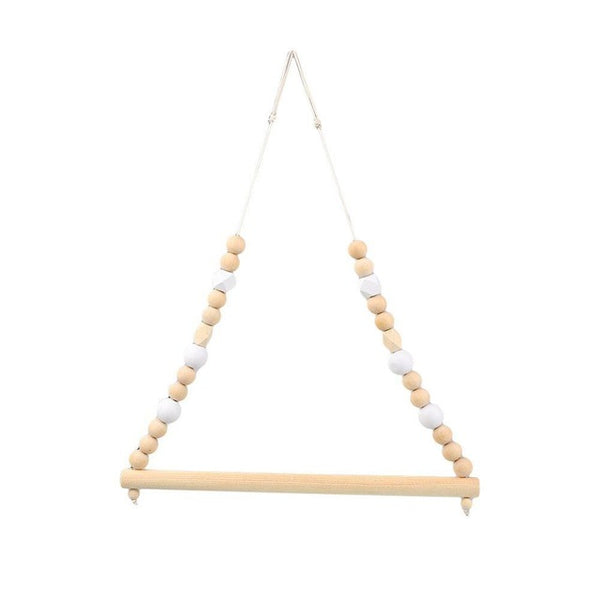 Shop Beads Wooden Hanger Rod -  Accessories For A Happy Trendy Modern Home at Low Prices  Color Home Happy