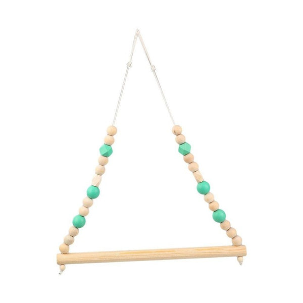 Shop Beads Wooden Hanger -  Accessories For A Happy Trendy Modern Home at Low Prices  Color Home Happy
