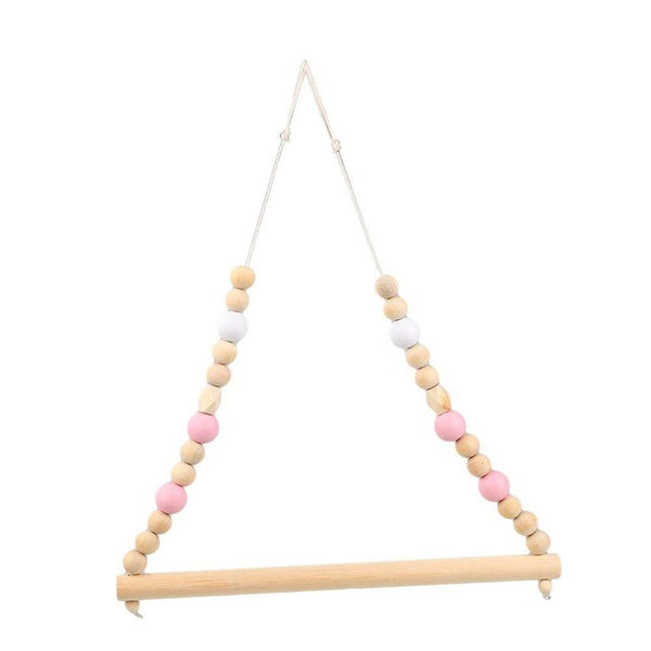 Shop Beads Wooden Hanger -  Accessories For A Happy Trendy Modern Home at Low Prices  Color Home Happy - Accessories for a happy modern home