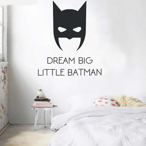 Superhero Mask Vinyl Wall Decals - Color Home Happy - Accessories for a happy modern home