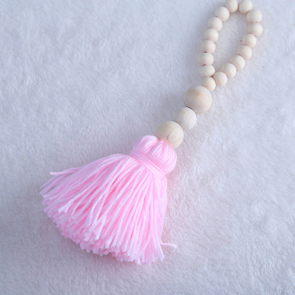 Shop Wooden Beads Tassel -  Accessories For A Happy Trendy Modern Home at Low Prices  Color Home Happy