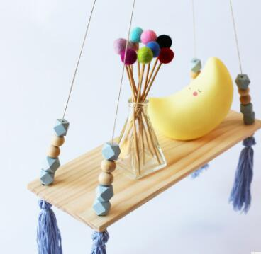 Beads and Tassels Hanging Shelf - Color Home Happy - Accessories for a happy modern home