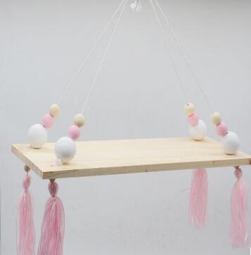 Shop Beads and Tassels Hanging Shelf -  Accessories For A Happy Trendy Modern Home at Low Prices  Color Home Happy - Accessories for a happy modern home