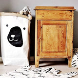 Shop Bear Paper Storage Bag -  Accessories For A Happy Trendy Modern Home at Low Prices  Color Home Happy