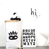 Shop Indian Mask Paper Storage Bag -  Accessories For A Happy Trendy Modern Home at Low Prices  Color Home Happy - Accessories for a happy modern home