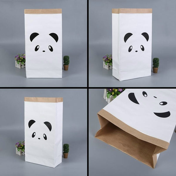 Shop Panda Paper Storage Bag -  Accessories For A Happy Trendy Modern Home at Low Prices  Color Home Happy - Accessories for a happy modern home