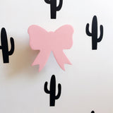 Shop Bow Wooden Hook -  Accessories For A Happy Trendy Modern Home at Low Prices  Color Home Happy