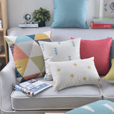 Shop Triangle Throw Pillow Cover -  Accessories For A Happy Trendy Modern Home at Low Prices  Color Home Happy - Accessories for a happy modern home