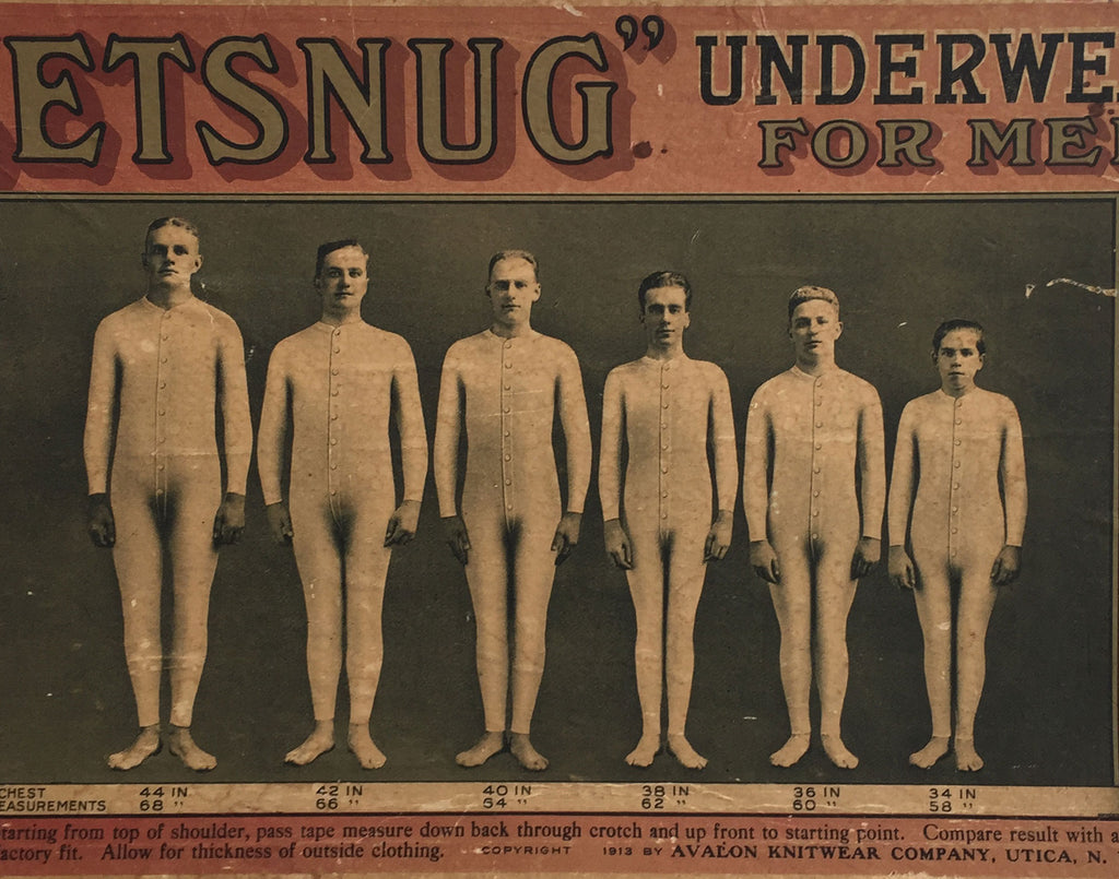 February Photo of the Month: Men in Union Suits