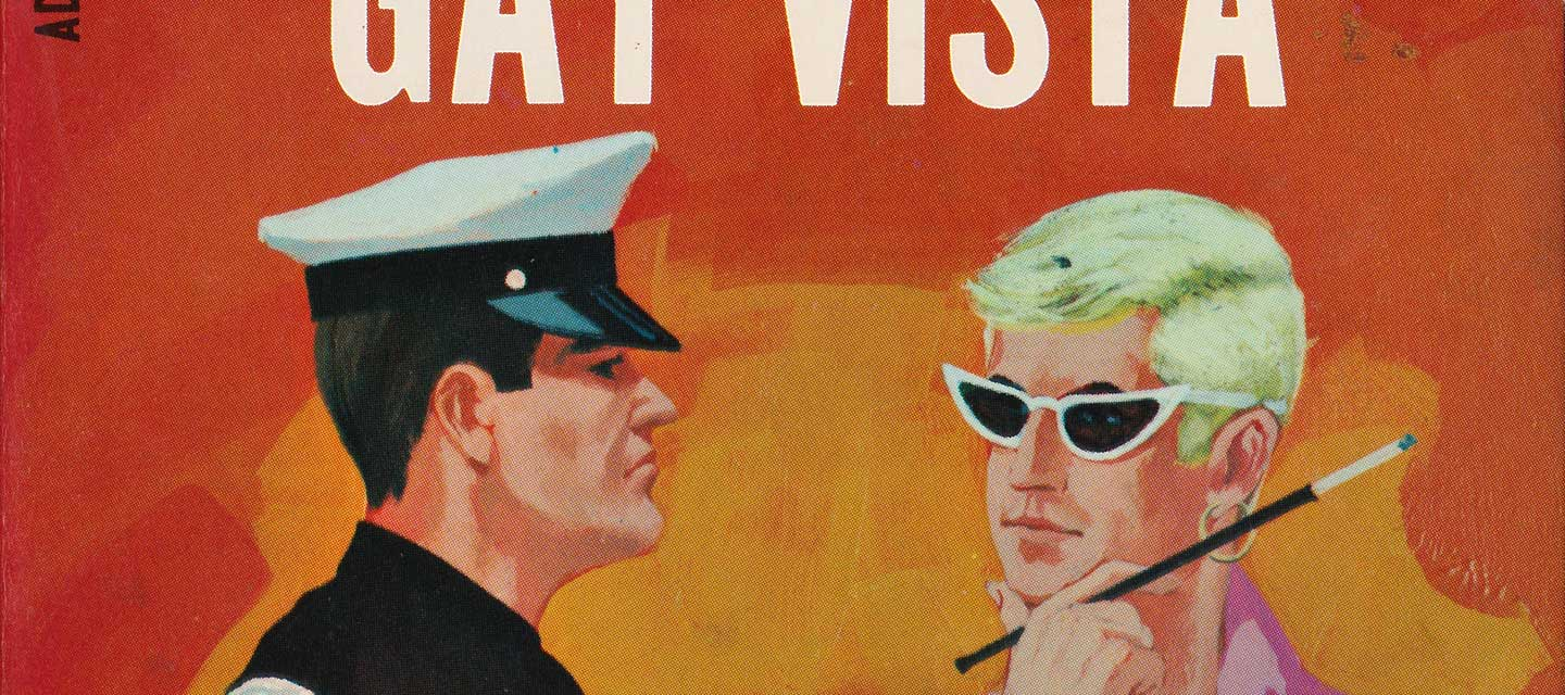 Gay Vista vintage pulp novel